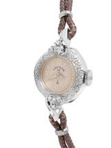 LADY ELGIN 14KT White Gold Diamond Watch Manual... - $325.00