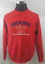 VINTAGE 1998 MEN'S MARK MCGWIRE CARDINALS HOME RUN KING SWEATSHIRT L SEW... - $19.38