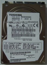 "New 80GB 2.5"" SATA Drive Toshiba MK8032GSX HDD2D32 Free USA Shipping"