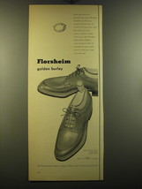 1950 Florsheim Advertisement - The Warwick S-1392 Shoes - $14.99