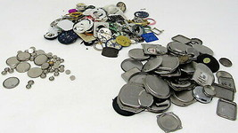Watch Parts Faces Hands Hardware Boards Mix Lot Jewelry Crafts Steampunk... - $18.79