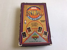Upper Deck Nba 1991-1992 Inaugural Edition 12 Cards Per Pack Complete Box #3186 - $14.52
