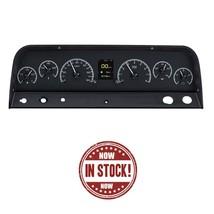 Dakota Digital 64-65-66 Chevy Pickup Truck HDX Dash Gauge Kit Black HDX-64C-PU-K - $1,230.25