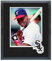 """Frank Thomas 1990 White Sox Hall of Famer - 11"""" x 14"""" Matted and Framed Photo  - $43.55"""