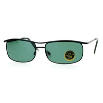 Impact Resistant Glass Lens Sunglasses Metal Spring Hinge Frame Unisex - $9.95