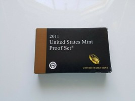 2011 s U S Mint Proof 14 Coin Set Original Packaging Box with C O A - $29.95