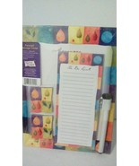 Leaf Message Board and List - $3.00