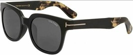 Tom Ford 408 D 05A Black Tortoise / Gray Sunglasses FT408 D 05A 54mm - $224.42