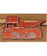Midge Toy Die Cast Metal Red Tow Truck - Vintage - $8.00
