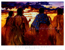 Dancing 'Til Dawn  ( A Canvas Transfer )  by Mairanne Millar - $99.00