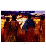 Dancing 'Til Dawn  ( A Canvas Transfer )  by Ma... - $99.00
