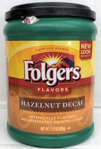 Folgers Hazelnut Decaffeinated Ground Coffee 11.5 oz - $7.51