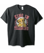 Disney Men's Lion Simba King In Training Graphic T-Shirt, Size Small - $10.50