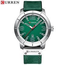 2019 CURREN Quartz Wrist Watch Men Watches Top Brand Luxury Leather Wristwatch F - $37.11