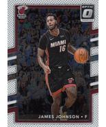 James Johnson 2017-18 Donruss Optic Card #77 - $0.99