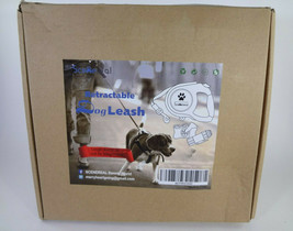 Scenereal Retractable Dog Leash comes with Bone Trash Bags and Flash Lig... - $21.51
