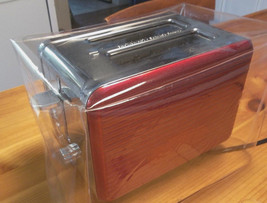 CLEAR HEAVY VINYL DUST  COVER  FOR A  2 OR 4 SLICE  TOASTER - €22,39 EUR