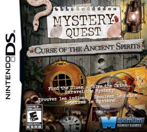 Mystery Quest: Curse of the Ancient Spirits - Nintendo DS [video game]