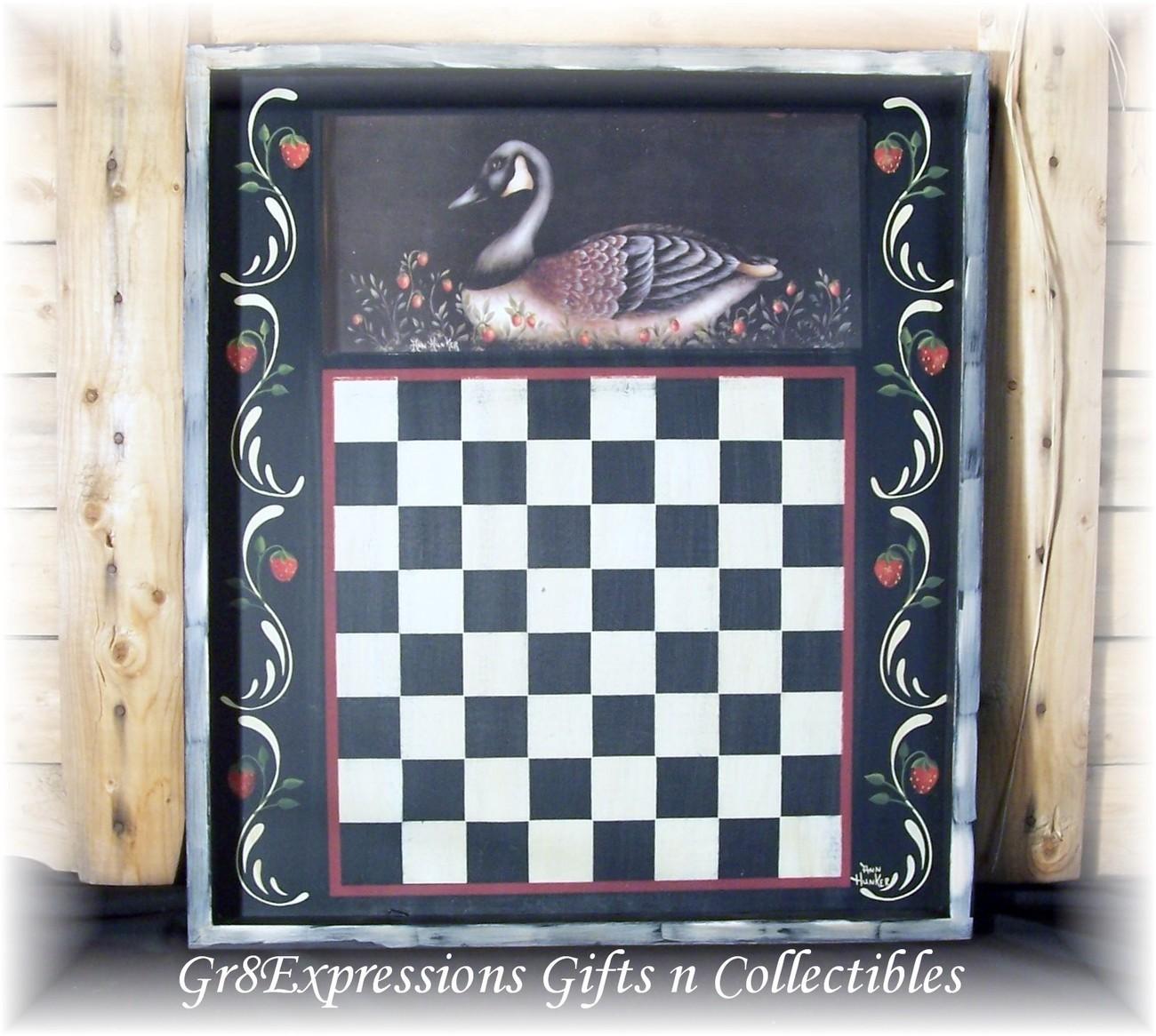 Goose checkerboard