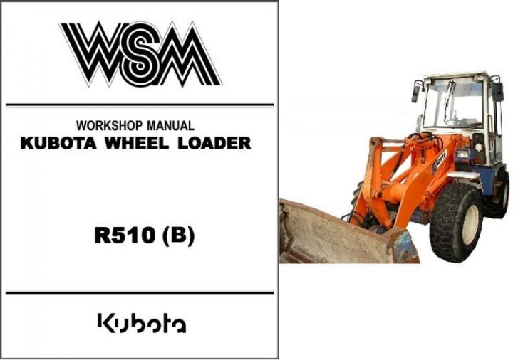 kubota r510 wheel loader wsm service and 50 similar items