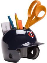 Minnesota Twins MLB Baseball Schutt Mini Batting Helmet Desk Caddy - $19.95