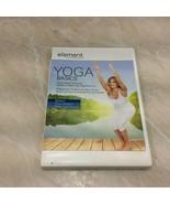 Yoga Basics DVD 2007 Element Ashley Turner Bonus Power Program - $9.85