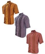 Men's Microfiber Shirt Scorpion Design Short Sleeve - €16,45 EUR