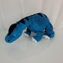 Ganz Webkinz Apatosaurus Plush Blue Dinosaur Stuffed Animal Toy 10 in mm - $17.81