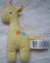 Carters Child Of Mine Giraffe Plush Squeak Toy - $5.99