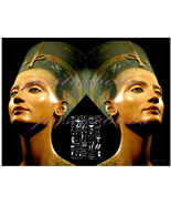 Queen Nefertiti of Egypt (a Limited Edition Can... - $95.00