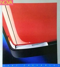 1987 Chevrolet NOVA brochure catalog US 87 Chevy Prizm Corolla - $6.00