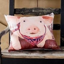 Indoor/Outdoor Animal Pillow Pig - $24.27