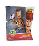 Disney Thinkway Toys Toy Story Talking Woody Sheriff Cowboy Pull string toy - $58.00