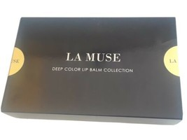 LA Muse Deep Color Lip Balm  Collection New  Factory Sealed - $28.49