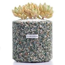 FLORASHOW Succulent Pots, Indian AgateMaterials4.52 inch SucculentPla... - $51.38