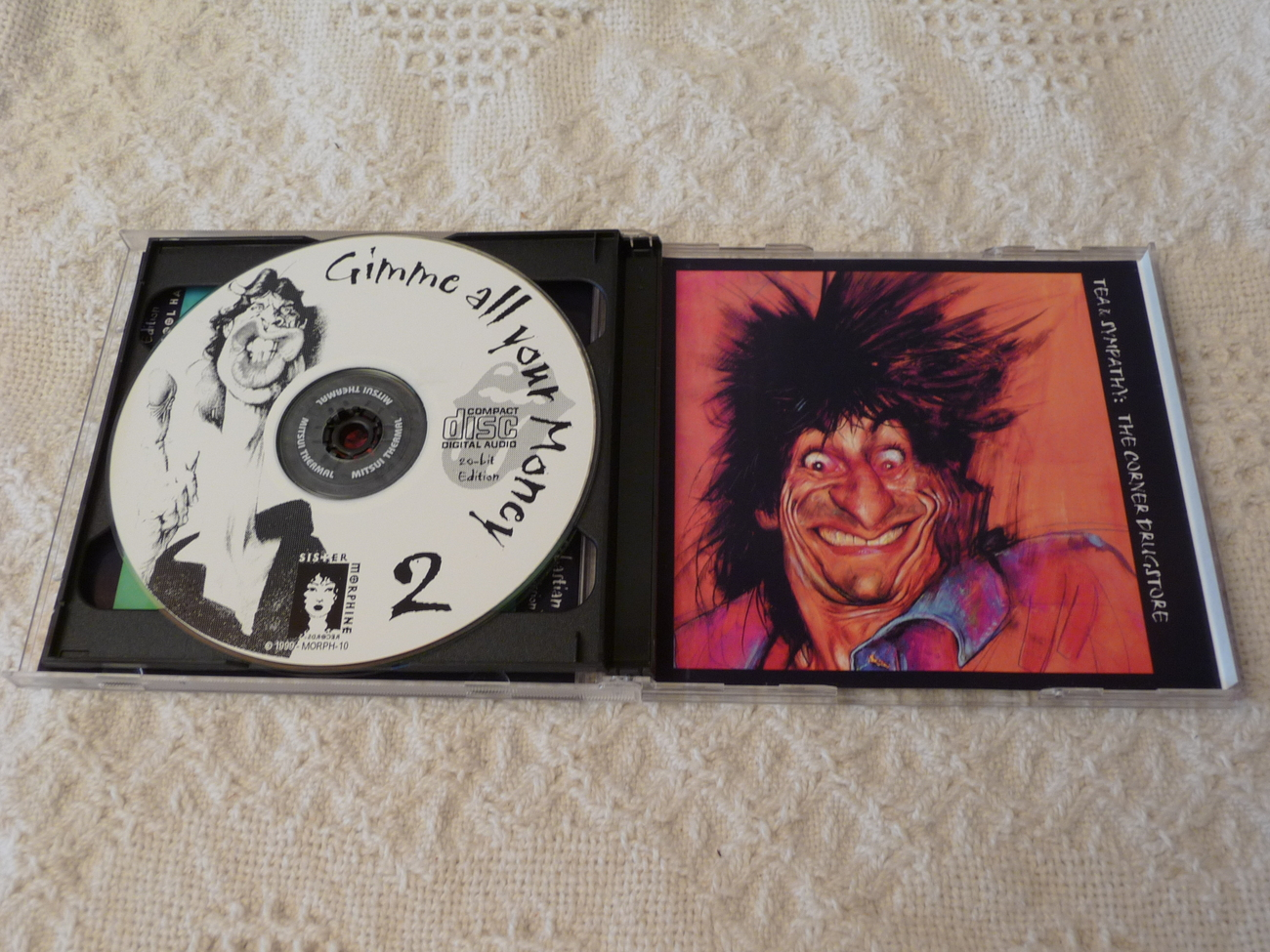 The Rolling Stones Gimmie All Your Money Oakland 1999 Clapton Original 2 CD