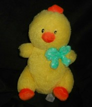 "9"" ANIMAL ADVENTURE 2017 BABY YELLOW MELLOW MEADOW DUCK STUFFED PLUSH TO... - $23.38"