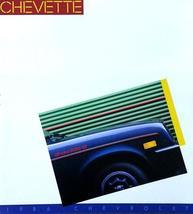1986 Chevrolet CHEVETTE brochure catalog US 86 Chevy CS - $6.00