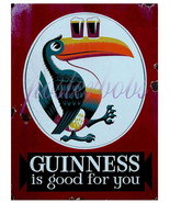 """Guinness is Good For You"" 22 x 17 inch Vintage Advertising Giclee CANVA... - $59.00"