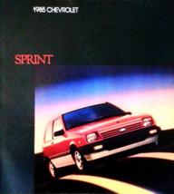 1985 Chevrolet SPRINT brochure catalog Canada 85 Chevy - $6.00
