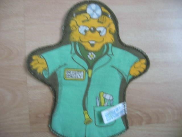 Berenstain Bear Cloth Hand Puppet Vintage