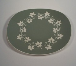"Harkerware Ivy Wreath Platter 11 1/2"" by 9 7/8"" Harker - $12.99"