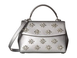 Michael Kors Ava Jewel Small Satchel - Silver - Satchels - $168.30