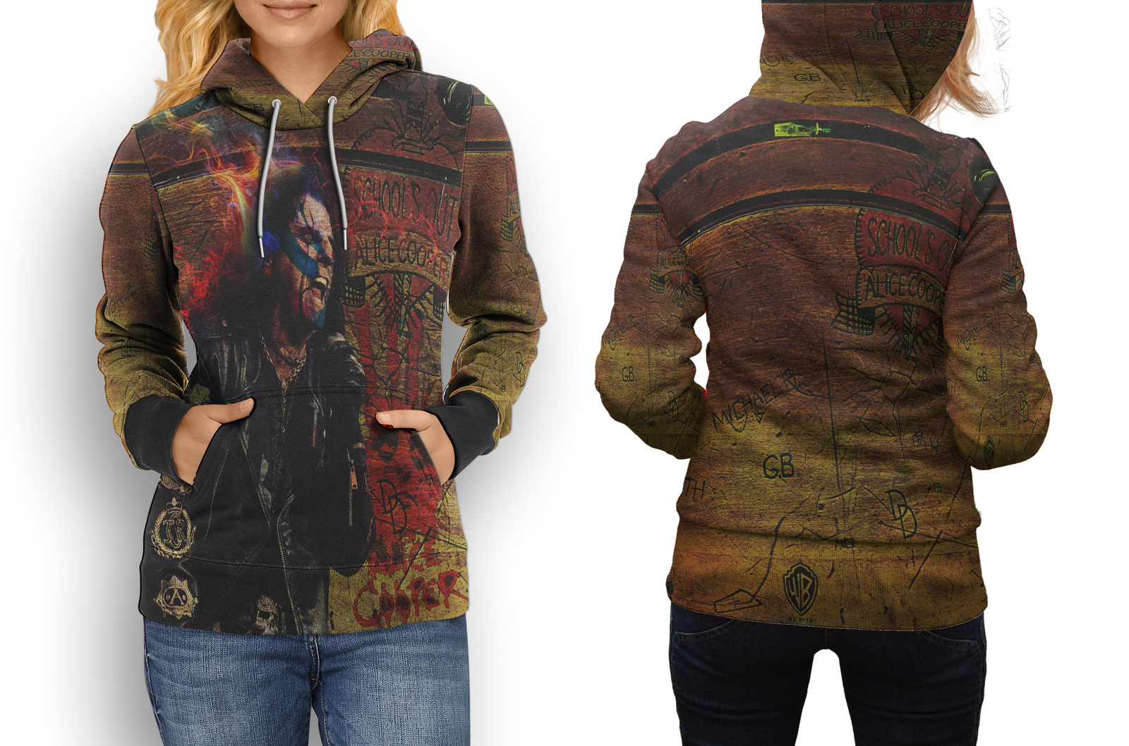 Primary image for Alice Cooper Collection #3 Women's Hoodie
