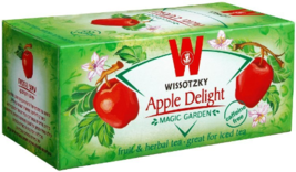 Wissotzky Tea Apple Delight Caffeine Free - 20 tea bags - $8.75