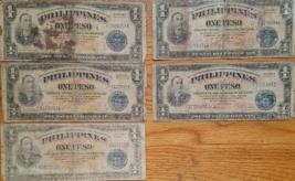 Manila PHILIPPINES Treasury Certificate 1 Peso Mabini, Victory Series 66... - $15.95
