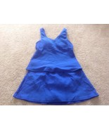 L.L.Bean Womens blue 2 Pc Tankini Skort Swimsuit Set 4 Reg EUC - $17.60