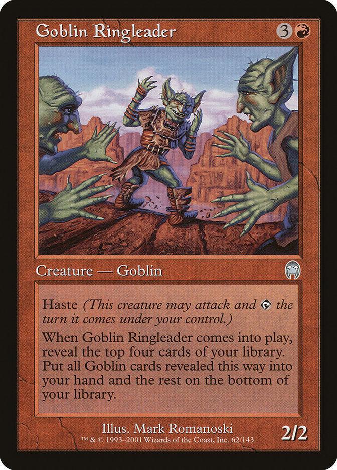 Goblin Ringleader 1x English Apocalypse NM/LP Uncommon Red Goblin Tribal
