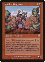 Goblin Ringleader 1x English Apocalypse NM/LP Uncommon Red Goblin Tribal - $1.73