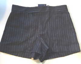 Ralph Lauren Womens Ladies Navy Dark Blue Shorts Size 16 Tailored Stripe RRP£140 - $60.11